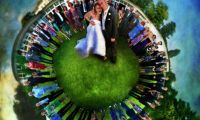 Wedding Roundography  Super Awesome Photographer Lucy Martin
