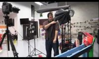 Photography-Themed Rube Goldberg Machine by 2D Photography Inc.