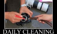 Common Mistakes in Cleaning a Camera or Lens