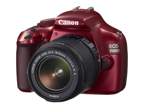 Canon EOS 1100D vs Canon EOS 1000D - Red EOS 1100D