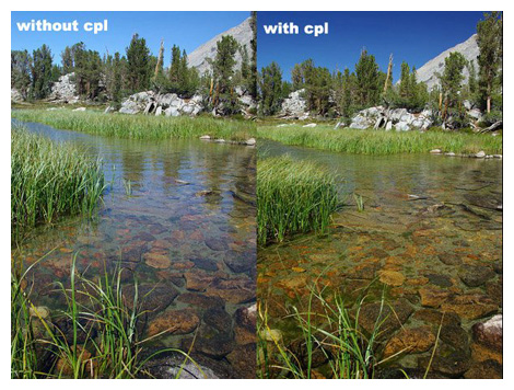 Creating Dark Blue Sky Using Polarizer Filter - CPL Effect