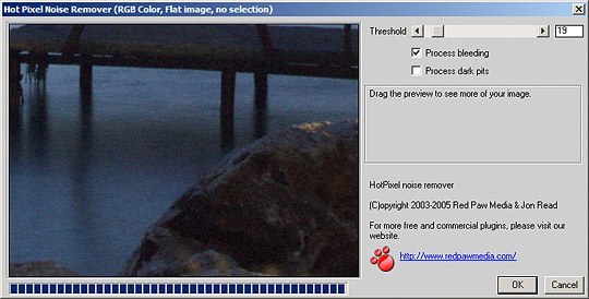 Download Photography Software: HotPixel Adobe Photoshop Plug-in