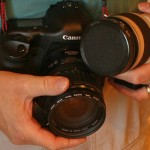 How to Change the Lens Safely