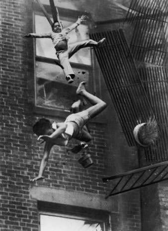 Iconic Photograph - Fire on Marlborough Street