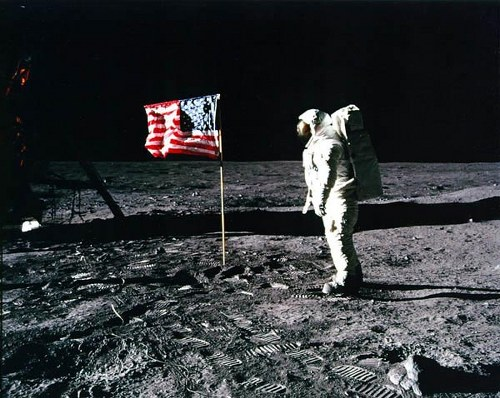 Iconic Photograph – Moon Landing