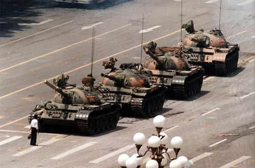 Iconic Photograph – Tank Man