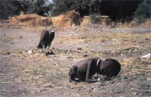 Iconic Photograph – Vulture Stalking a Child