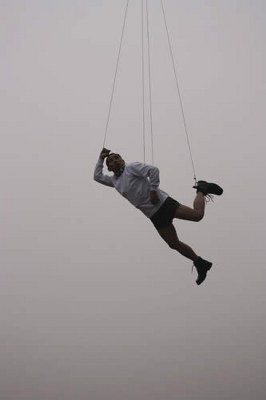 Li Wei Photography - Hanging by Steel Wires