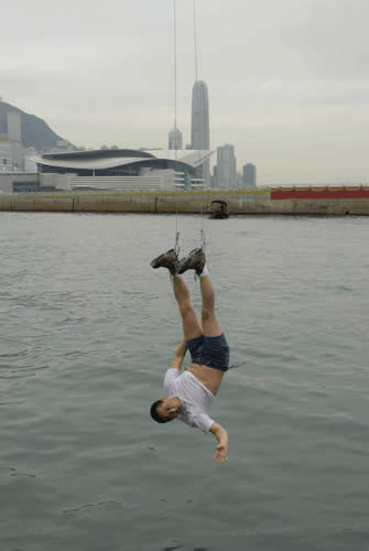 Li Wei Photography - Hanging by Steel Wires 2