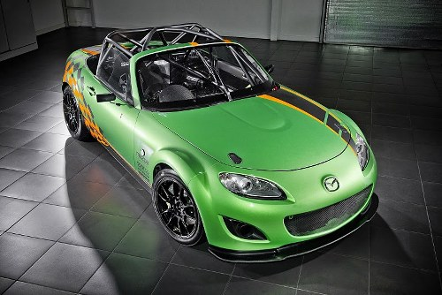 Automotive Photography Tips and Trick - Mazda Mx 5 Gt Race