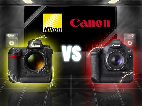 Camera War Nikon D3 vs Canon EOS 1D mark III