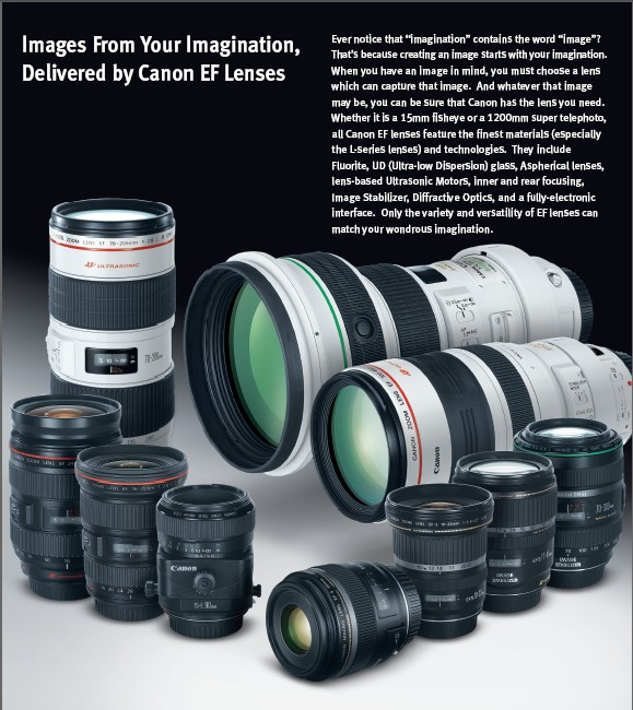 Download PDF – Canon DSLR Lens Catalogue
