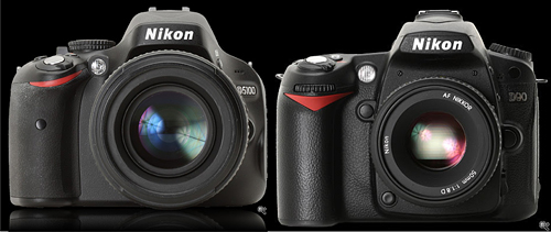 Nikon D5100 vs Nikon D90