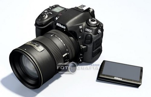 Nikon D800 Futuristic Looking Camera Concept