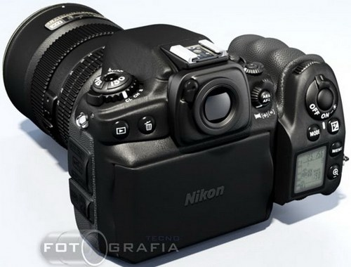 Nikon DSLR D800 Futuristic Looking Camera Concept