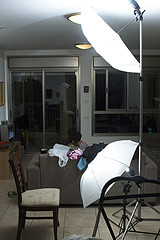 Basic Studio Lighting Setups - Butterfly Lighting