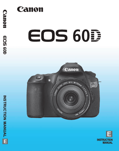 Download Photography PDF-Canon 60D User's Guide