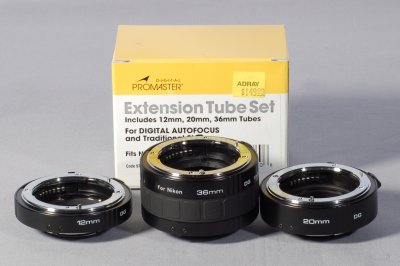 Macro Photography Equipment for Beginner - Macro Extension Tubes