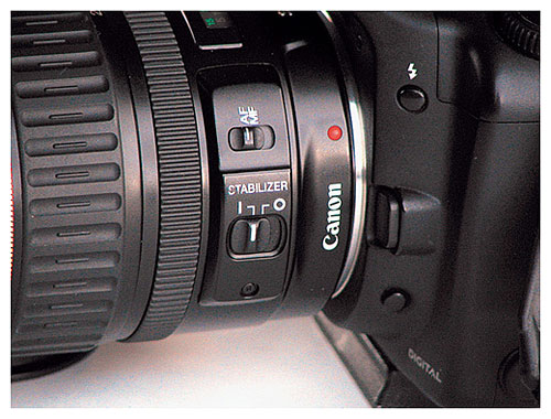 Canon Image Stabilizer Lens