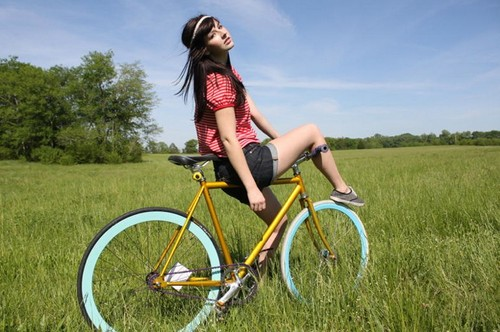 cool and sexy fixed gear photography -  5