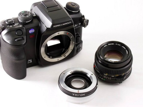An easy way to use manual lenses on DSLRs