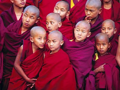 Richard Ianson Photography - Novice Buddhist monks