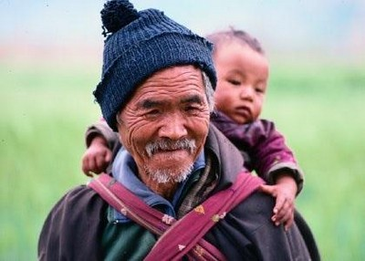 Richard Ianson Photography - Old Man and Child