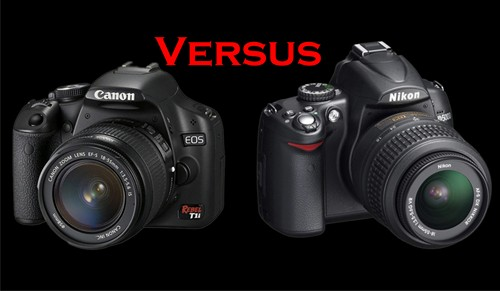 Canon EOS 500D vs Nikon D5000
