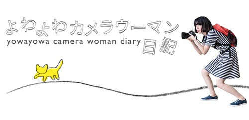 Yowayowa camera woman diary
