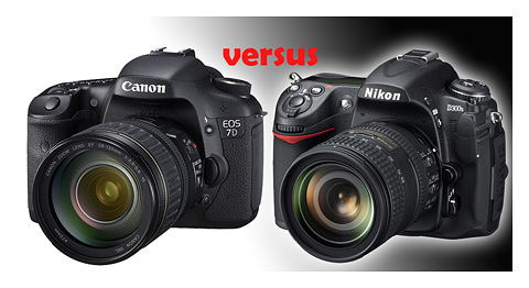 Canon EOS 7D vs Nikon D300s