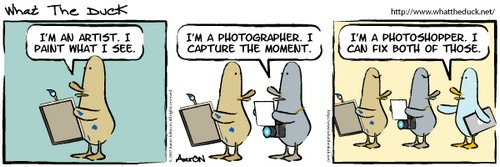 Photographer and Photoshopper