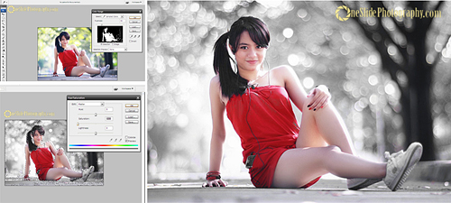 Selective Color Photography Using Adobe Photoshop