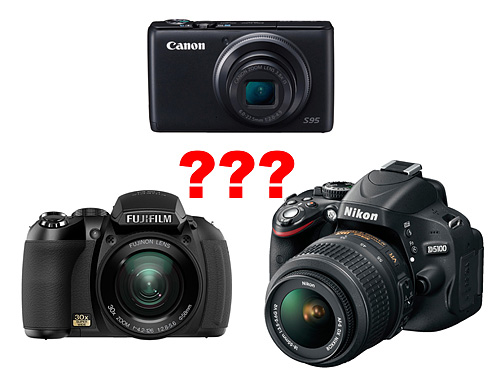 Pocket Point-and-Shoot Cameras vs. Prosumer Cameras vs. DSLR cameras: What's the difference?