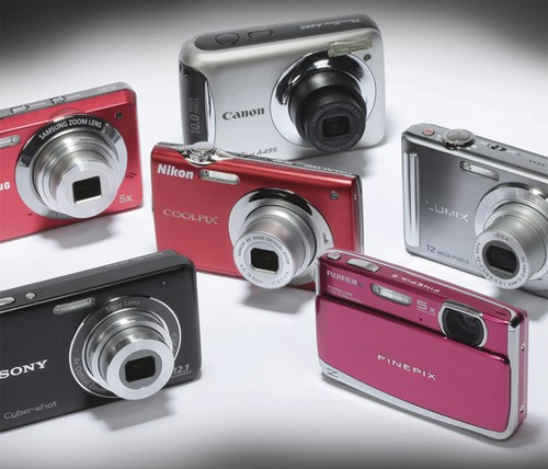 Pocket Point-and-Shoot Cameras