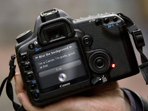 SIRI Technology in the Canon EOS 5D Mark II? Seriously?