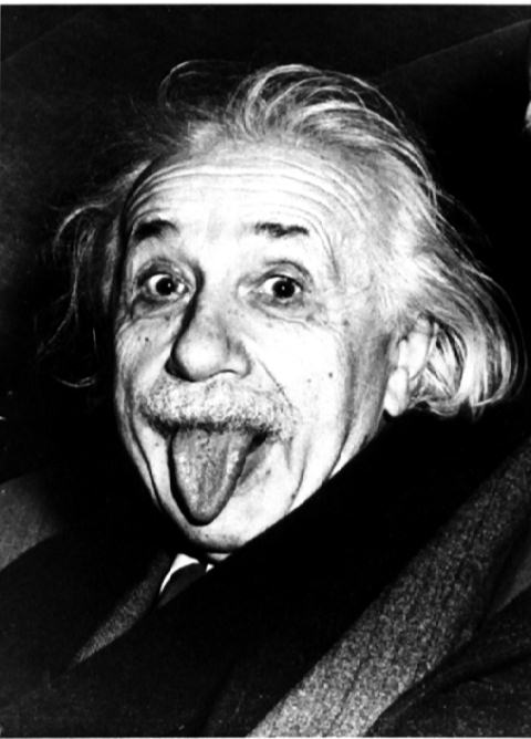 Why did Einstein Stick Out his Tongue in his Portrait