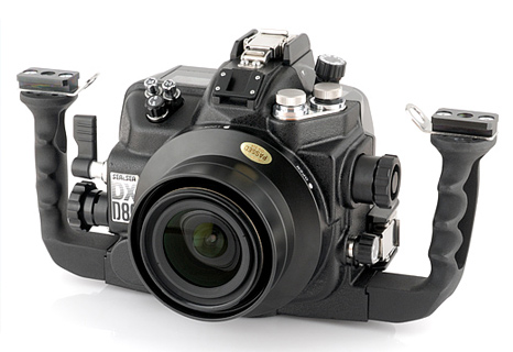 DSLR underwater housing