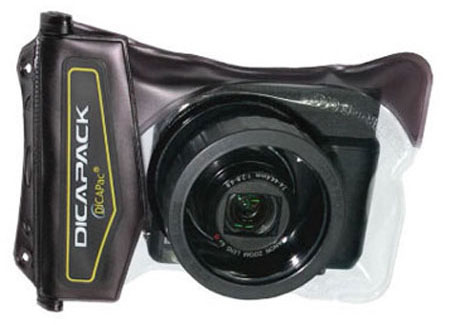 Diapack for compact camera