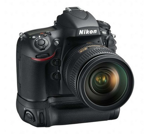 NikonD800 with MB-D12 Battery grip