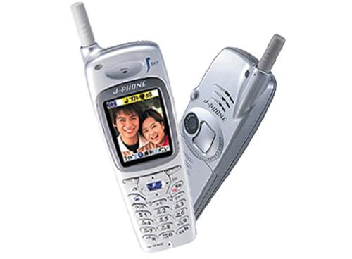First Camera Phone - J-SHO4