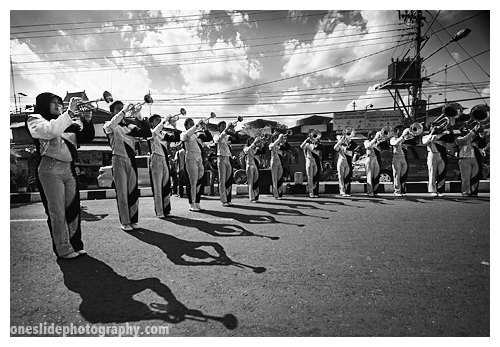 Parades Photography Tips - Lighting