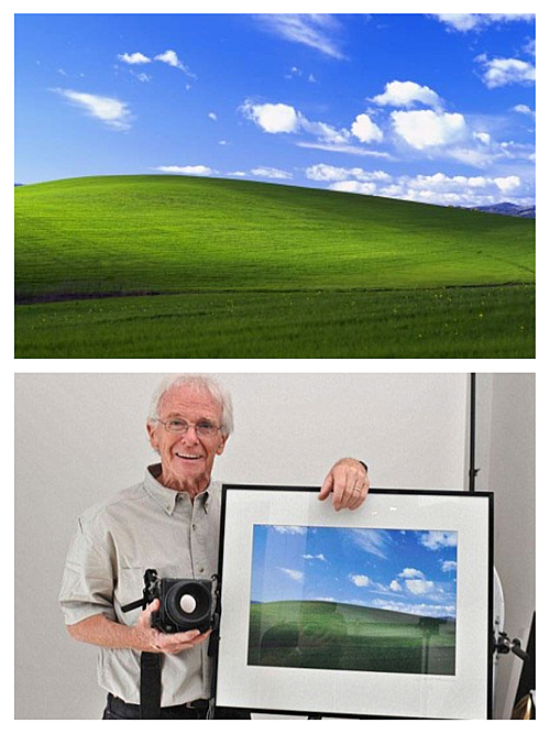 """Bliss"" the Most Viewed Photograph in the World"
