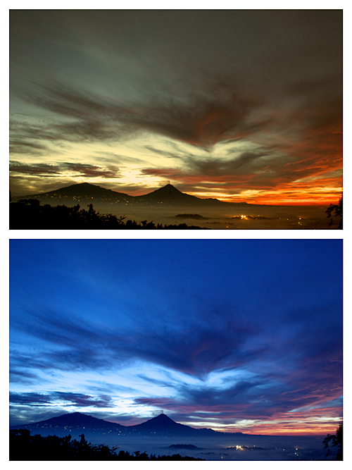 How to Make a Sunrise look like a Sunset, or Vice Versa