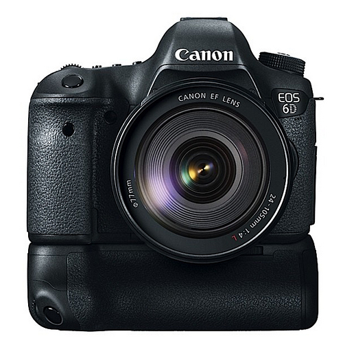 Canon EOS 6D Battery Grip BG-E9