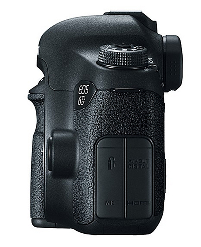Canon EOS 6D – Port Cover