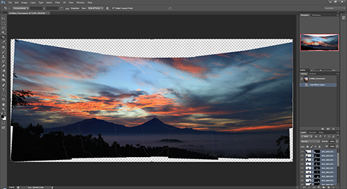 Panorama Tutorial – step 4