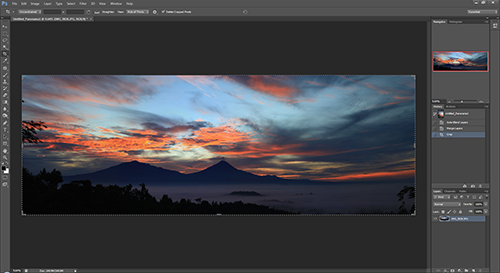 Panorama Tutorial – step 5