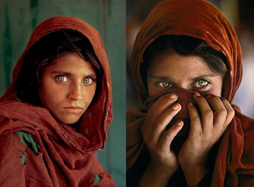 Afghan Girl Photograph