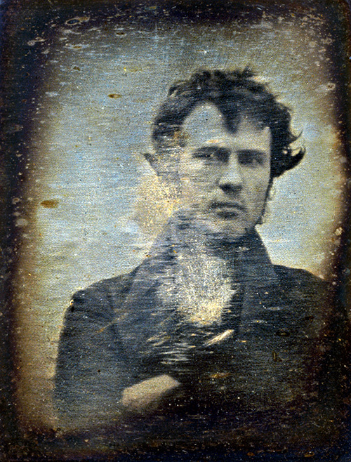 Robert Cornelius  first selfie