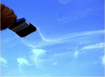 Sky Forced Perspective Photography